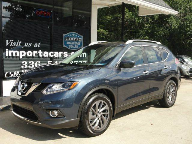 2016 nissan rogue sl 4dr crossover in madison nc importacar. Black Bedroom Furniture Sets. Home Design Ideas