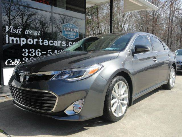 2015 toyota avalon limited 4dr sedan in madison nc importacar. Black Bedroom Furniture Sets. Home Design Ideas