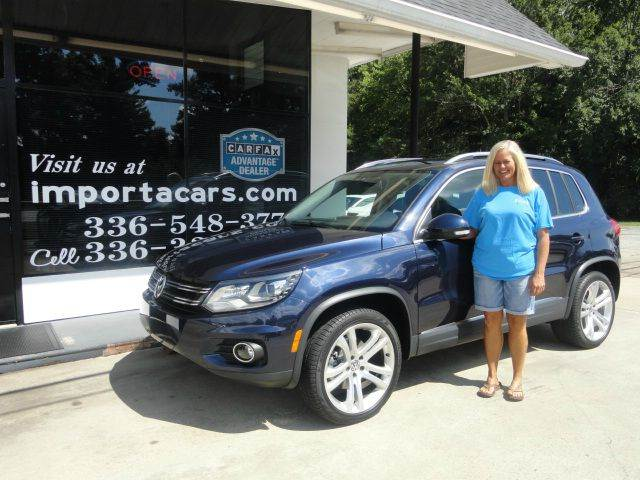 2016 Volkswagen Tiguan AWD 2.0T SEL 4Motion 4dr SUV - Madison NC