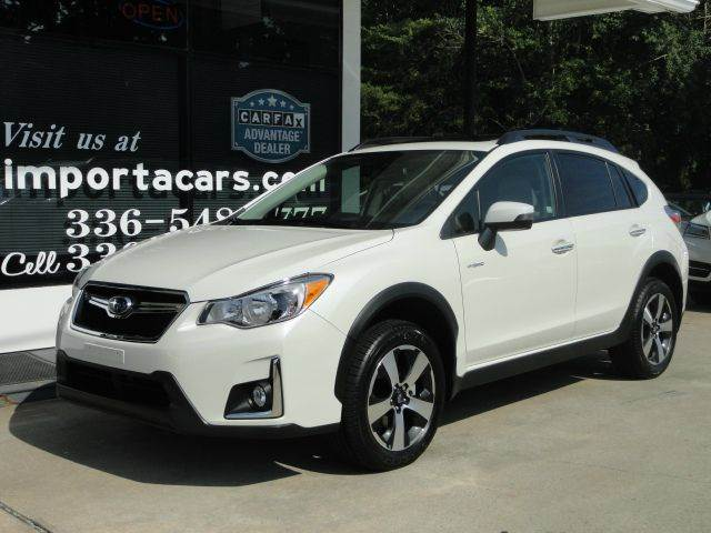 2016 subaru crosstrek awd hybrid touring 4dr crossover in madison nc importacar. Black Bedroom Furniture Sets. Home Design Ideas