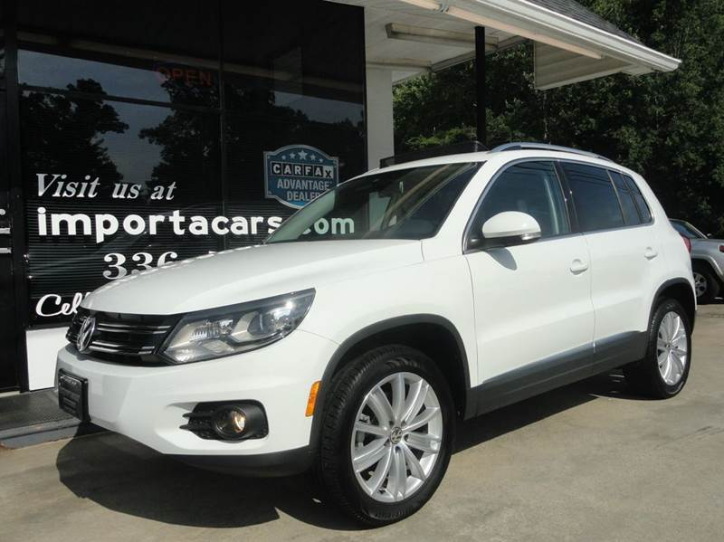 2016 Volkswagen Tiguan 2.0T SE 4Motion AWD 4dr SUV - Madison NC