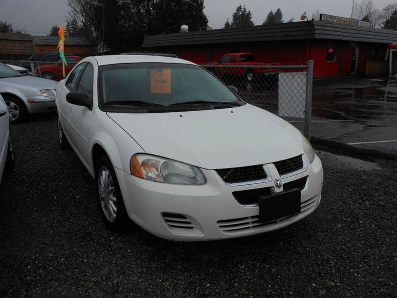 2006 dodge stratus sxt 4dr sedan in tacoma wa preferred. Black Bedroom Furniture Sets. Home Design Ideas