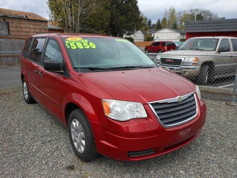 2008 Chrysler Town and Country for sale in Tacoma, WA
