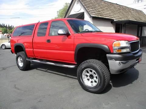 2001 GMC Sierra 2500HD for sale in Fair Oaks, CA