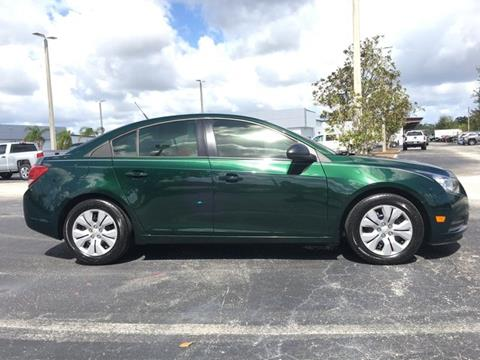 2014 Chevrolet Cruze for sale in Melbourne, FL