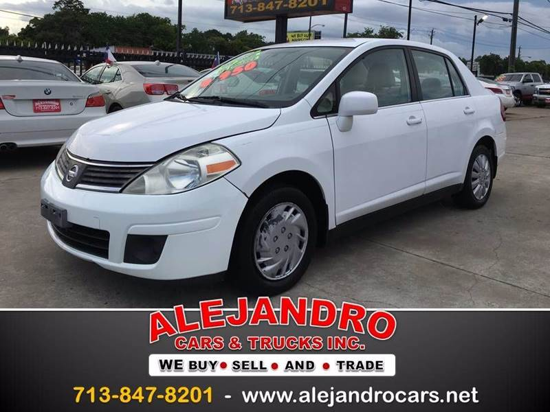 2008 Nissan Versa 1.8 S 4dr Sedan 6M In Houston TX - Alejandro Cars ...
