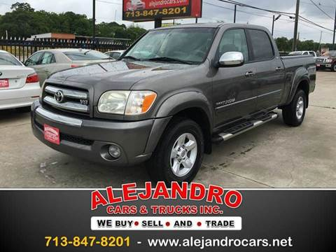 2005 Toyota Tundra for sale in Houston, TX