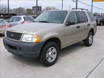 2003 Ford Explorer for sale in Houston, TX