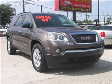 2007 GMC Acadia for sale in Houston, TX