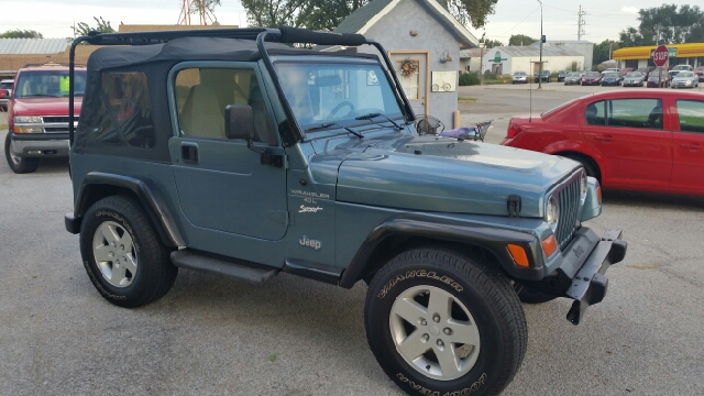1998 Jeep Wrangler Sport 2dr 4WD SUV - Central City NE