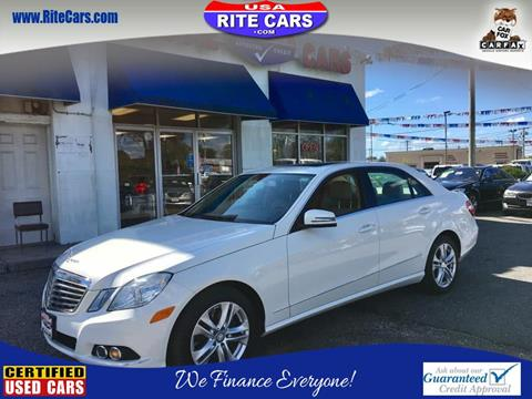 2010 Mercedes-Benz E-Class for sale in Lindenhurst, NY