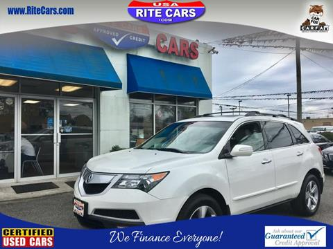 2011 Acura MDX for sale in Lindenhurst, NY