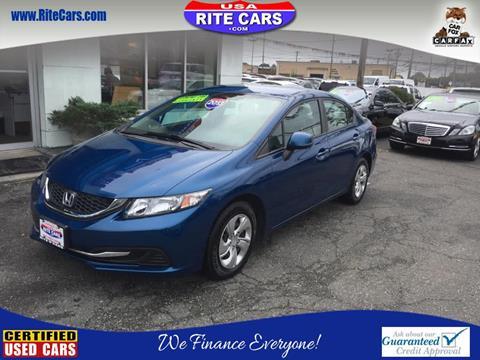 2013 Honda Civic for sale in Lindenhurst, NY