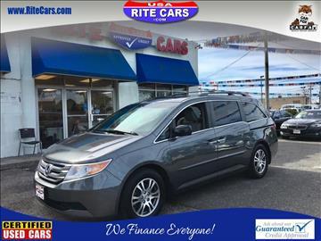 2012 Honda Odyssey for sale in Lindenhurst, NY