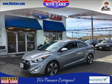 2014 Hyundai Elantra Coupe for sale in Lindenhurst, NY