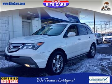 2008 Acura MDX for sale in Lindenhurst, NY