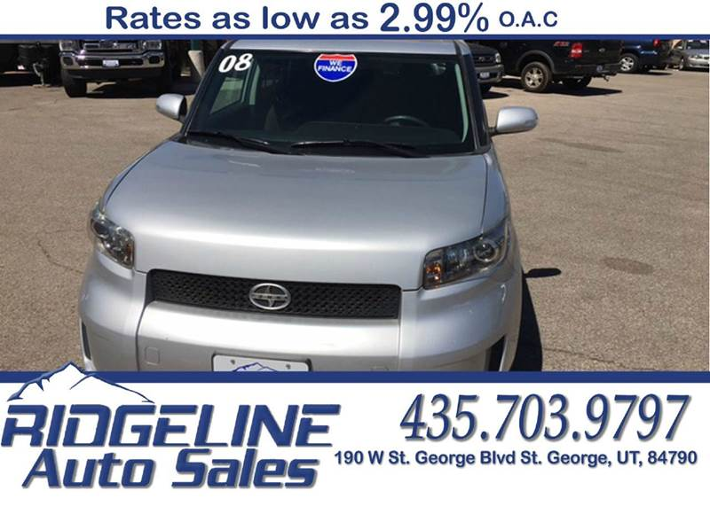 Used Cars in St. George 2008 Scion xB