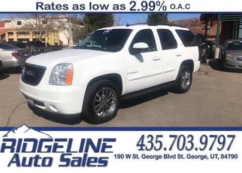 ridgeline auto sales used cars trucks saint george ut. Black Bedroom Furniture Sets. Home Design Ideas