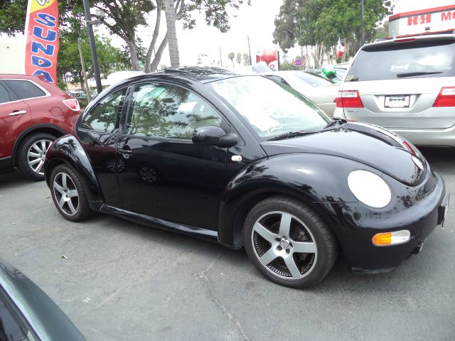2002 VOLKSWAGEN NEW BEETLE SPORT 2DR HATCHBACK black abs - 4-wheel anti-theft system - alarm cas