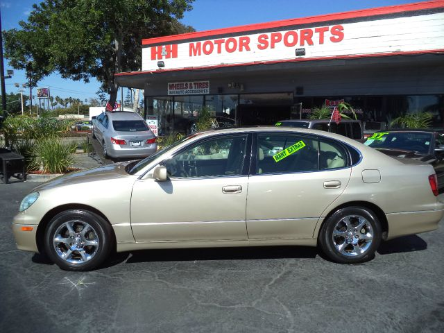 2003 LEXUS GS 300 BASE 4DR SEDAN abs - 4-wheel anti-theft system - alarm cd changer center conso