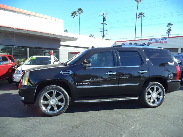 2007 CADILLAC ESCALADE BASE 4DR SUV black 2-stage unlocking - remote 3rd row 2-passenger seat ab