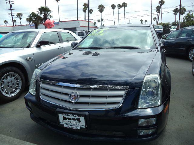 2006 CADILLAC STS V8 4DR SEDAN blue abs - 4-wheel antenna type anti-theft system - alarm anti-t