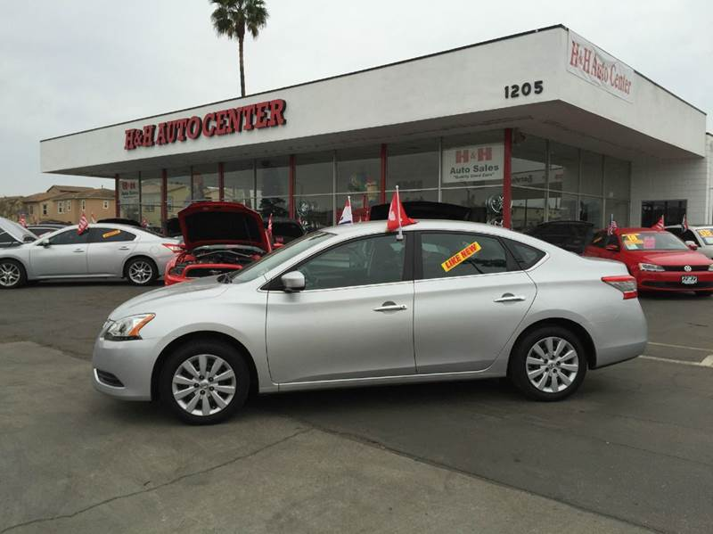 2014 nissan sentra sv 4dr sedan in oxnard ca h h auto center. Black Bedroom Furniture Sets. Home Design Ideas