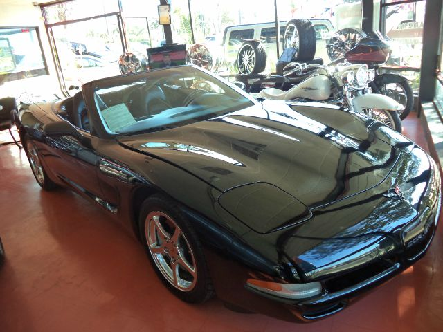 2002 CHEVROLET CORVETTE BASE 2DR CONVERTIBLE abs - 4-wheel anti-theft system - alarm clock dayti