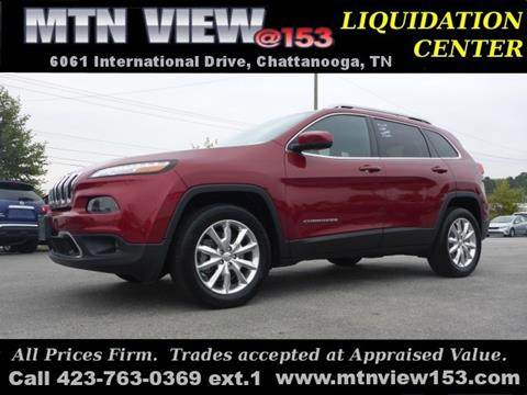 2016 Jeep Cherokee for sale in Chattanooga, TN