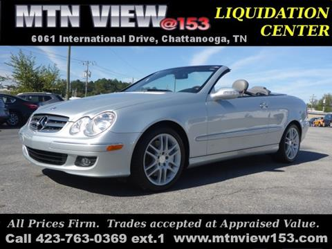 2008 Mercedes-Benz CLK for sale in Chattanooga, TN
