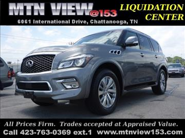 2016 Infiniti QX80 for sale in Chattanooga, TN