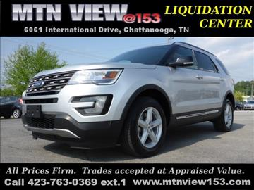 2016 Ford Explorer for sale in Chattanooga, TN