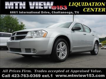 2008 Dodge Avenger for sale in Chattanooga, TN