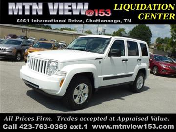 2012 Jeep Liberty for sale in Chattanooga, TN