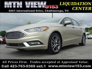 2017 Ford Fusion Hybrid for sale in Chattanooga, TN
