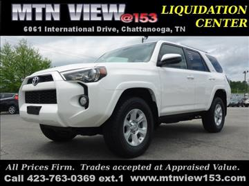 2016 Toyota 4Runner for sale in Chattanooga, TN