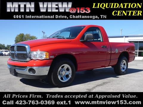 2004 Dodge Ram Pickup 1500 for sale in Chattanooga, TN