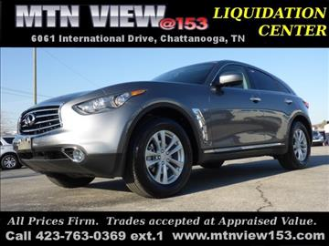 2016 Infiniti QX70 for sale in Chattanooga, TN