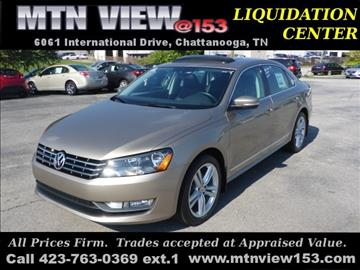 2015 Volkswagen Passat for sale in Chattanooga, TN