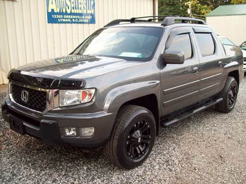 honda ridgeline for sale south carolina. Black Bedroom Furniture Sets. Home Design Ideas