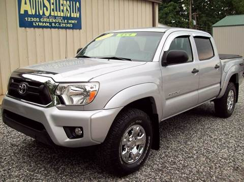2012 Toyota Tacoma for sale in Lyman, SC