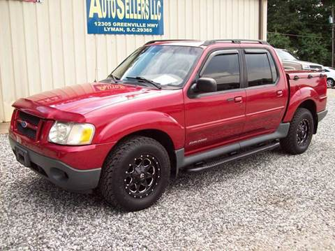 2002 Ford Explorer Sport Trac for sale in Lyman, SC