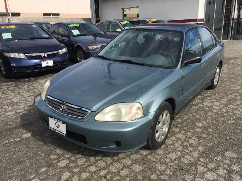 2000 honda civic vp 4dr sedan in cudahy ca venture auto inc for Honda civic vp