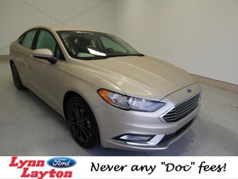 2018 Ford Fusion for sale in Decatur, AL