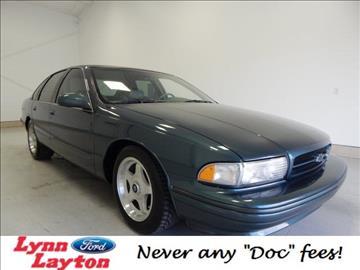 1996 Chevrolet Impala for sale in Decatur, AL