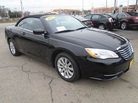 2012 Chrysler 200 Convertible for sale in Romeoville, IL
