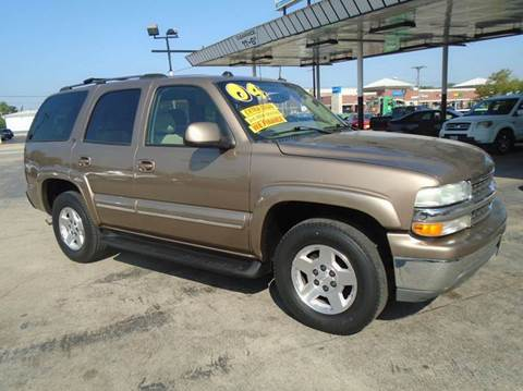 2004 Chevrolet Tahoe for sale in Romeoville, IL