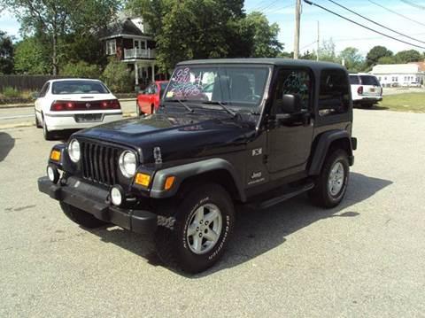 2003 Jeep Wrangler for sale in Warwick, RI