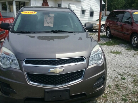 2010 Chevrolet Equinox for sale in Salem IL