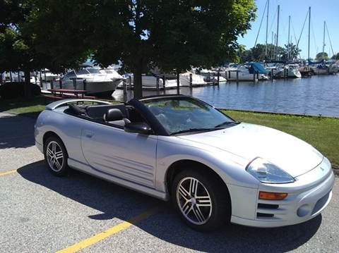 used 2005 mitsubishi eclipse spyder for sale in michigan